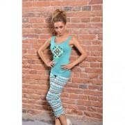 Fabiana pyjama met broek blauw