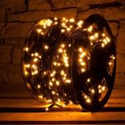Catena luminosa decoLED - 100 m, LED 1000 diodi luce bianca calda