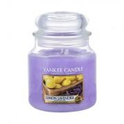 Yankee Candle Lemon Lavender vonná svíčka 411 g