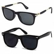 Ivonne Unisex UV Protected Wayfarer Stylish Mercury Sunglasses For Men Women Boys Girls