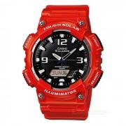 Casio AQ-S810WC-4AV resistente reloj de cuarzo solar - rojo (sin caja)