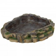 TRIXIE Reptile Water or Food Bowl 24x20 cm Polyester Resin 76205