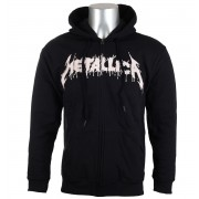 sweat-shirt avec capuche pour hommes Metallica - One Black - NNM - RTMTLZHBONE