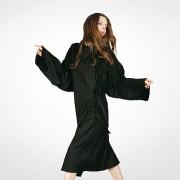 Bata Kimono Cliente Cabeleireiro Preto