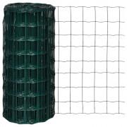 vidaXL Euro Fence 25 x 0.8 m with 100 mm Mesh