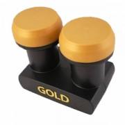 Microelectronic Micro New Gold Edition Monoblock Single LNB 0.1dB 3D HD Astra Hotbird