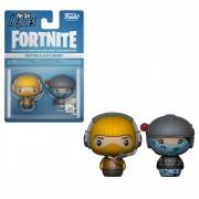 Pint Size Heroes Fortnite - Raptor ed Elite Agent 2-Pack Figure Pint Size Heroes