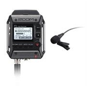 Zoom F1 Field Recorder with Lavalier