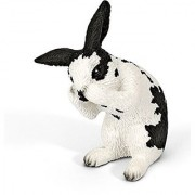 Schleich Grooming Rabbit Toy Figure