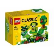 Caramizi creative verzi 11007 LEGO Classic