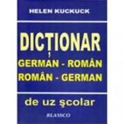 Dictionar german-roman roman-german de uz scolar