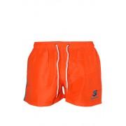 Abram Blue pánské koupací šortky M oranžová zářivá