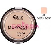 Pudra compacta Quiz Cosmetics