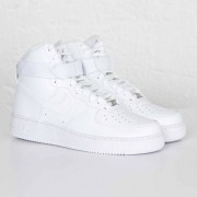 Nike air force 1 high ´07 White/White