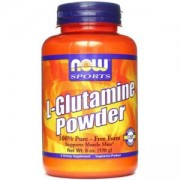 Л-Глутамин на прах 170 грама - L-Glutamine Powder - NOW FOODS, NF0220