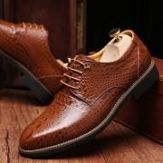 Zapatos De Ecocuero Y Caucho E-Thinker Para Hombre - Marrón