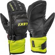 Leki Junior Mitten RACE COACH FLEX S GTX black/ice lemon