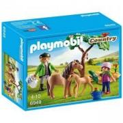 Комплект Плеймобил 6949 - Ветеринар с пони и малко, Playmobil, 2900178