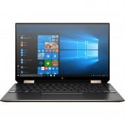 Laptop HP Spectre x360 13-aw0036nn 13.3 inch FHD Touch Intel Core i7-1065G7 8GB DDR4 512GB SSD FPR Windows 10 Home Nightfall Black