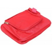 Kuber Industries Waterproof Travel Bag Beauty Make Up Toiletry Wash Bag Zipper Cosmetic Case Organiser Party, Picnic Easy Carrying Travel Toiletry Kit(Pink)