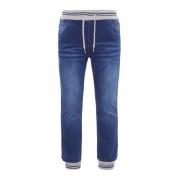 NAME IT Baggy Fit, Mycket Stretchiga Jeans Man Blå