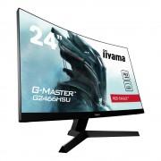 "Monitor VA, IIYAMA 23.6"", G2466HSU-B1, Curved, Gaming 165Hz, 1ms, 80Mln:1, HDMI/DP, Speakers, FullHD"