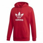Adidas Trefoil Hoodie Herr Power Red