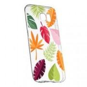 Husa Silicon Transparent Slim Toamna Frunze 151 Samsung Galaxy S7 Edge