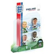 Figurine SoccerStarz England 4 Figurine Hart Jones Lallana And Sturridge 2014