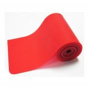 Bandas Elásticas Rojo Rollo 50 mt X 5cm X 0,25mm