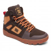 DC Zimní boty DC Pure High-Top WR chocolate brown