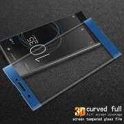 For Sony Xperia XA1 IMAK 3D Curved Full Coverage Tempered Glass Screen Guard - Blue