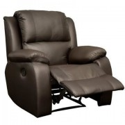 Lyla Single Recliner Brown Genuine Leather