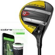 Cobra KING F9 Speedback Black/Yellow Fairway Wood【ゴルフ ゴルフクラブ>フェアウェイウッド】