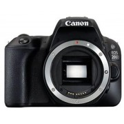 Aparat Foto DSLR Canon EOS 200D, Body, 24.2 MP, Full HD, Wi-Fi (Negru)
