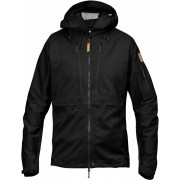 FjallRaven Keb Eco-Shell Jacket - Black - Vestes de Pluie XL