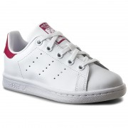 Обувки adidas - Stan Smith C BA8377 Ftwwht/Ftwwht/Bopink