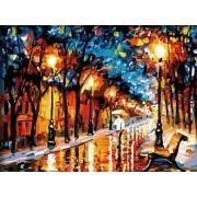 Gaira Malování podle čísel Deštivý podzim M1222