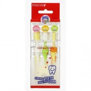 Pigeon Training Toothbrush Set 1 2 3