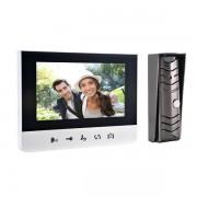 """Domovní bezsluchátkový videotelefon pro 1 byt BASTION 7"""" """"pin hole"""" ORNO OR-VID-CK-1039"""