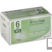 ROCHE DIABETES CARE ITALY SpA ACCU-FINE AGO G32 6MM 100PZ