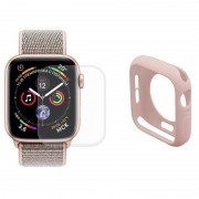 Conjunto de Protecção Hat Prince para Apple Watch Series 5/4 - 40mm - Cor-de-Rosa