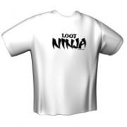 GamersWear Loot Ninja T-Shirt White (XL)