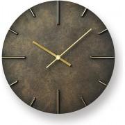 Lemnos Zegar ścienny Quaint ciemnorbązowy