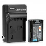 DSTE NP-FH50 Bateria + cargador USB para Sony DSC-HX1? HX100? HX200