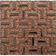 Maxwhite JSM-DD015 Mozaika skleněná růžová chrom 29,7x29,7cm