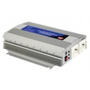 Invertor tensiune 12V-230V 1000W Mean Well