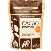 Navitas Naturals Cacao Bonen, Poeder, Rauw & Biologisch (454 gram) - Navitas Naturals