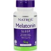 vitanatural melatonine tr 5mg - hormone sommeil - 100 comprimés