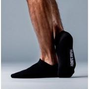 Bamboo Black Ankle Socks: 36-40